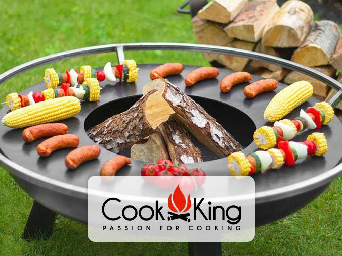 Cook king brazier