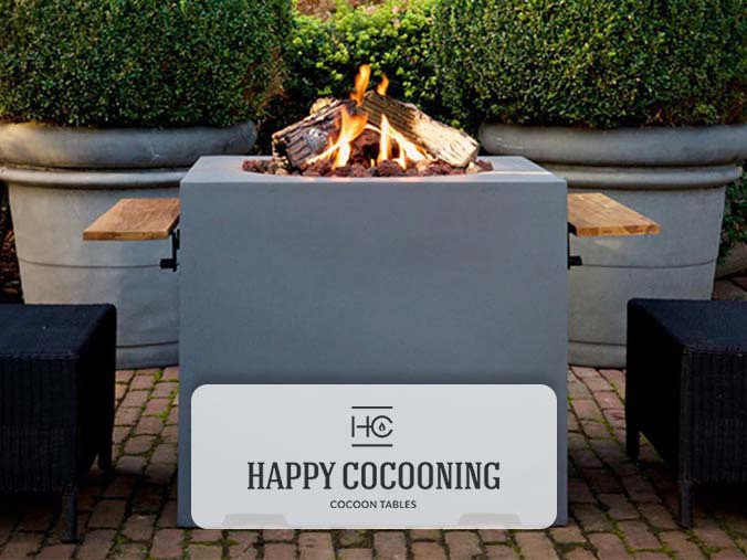 Happy Cocooning table